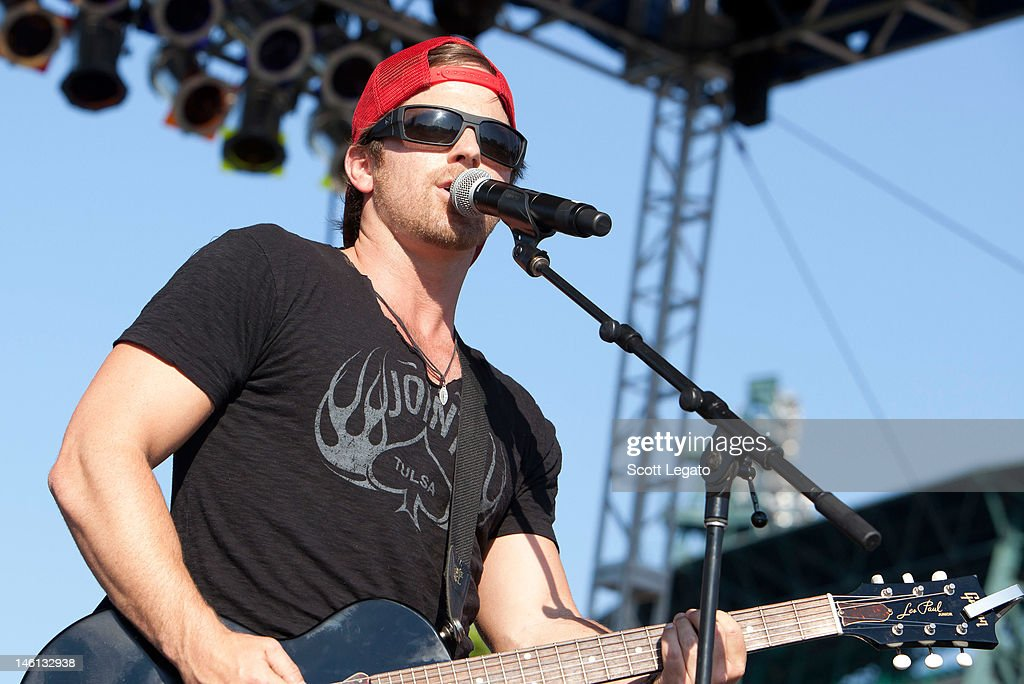 Kip Moore performs during the 2012 Downtown Hoedown at Comerica Park on June 10, 2012 in Detroit, Michigan.