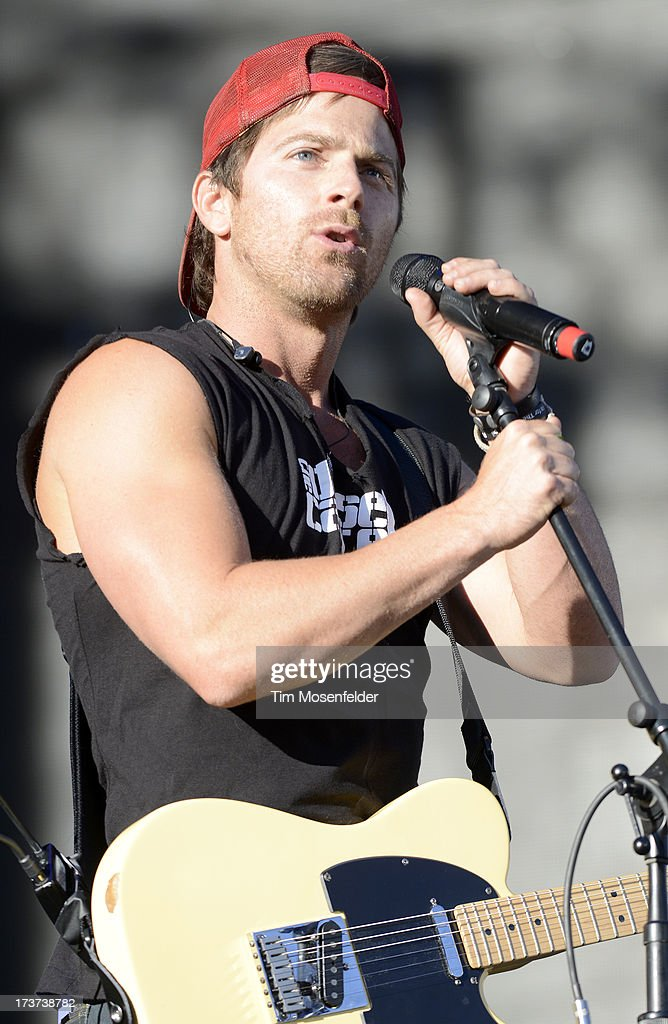 <a gi-track='captionPersonalityLinkClicked' href=/galleries/search?phrase=Kip+Moore&family=editorial&specificpeople=8375431 ng-click='$event.stopPropagation()'>Kip Moore</a> performs in support of his Up All Night release at the Lake Tahoe Outdoor Arena at Harveys on July 16, 2013 in Stateline, Nevada.