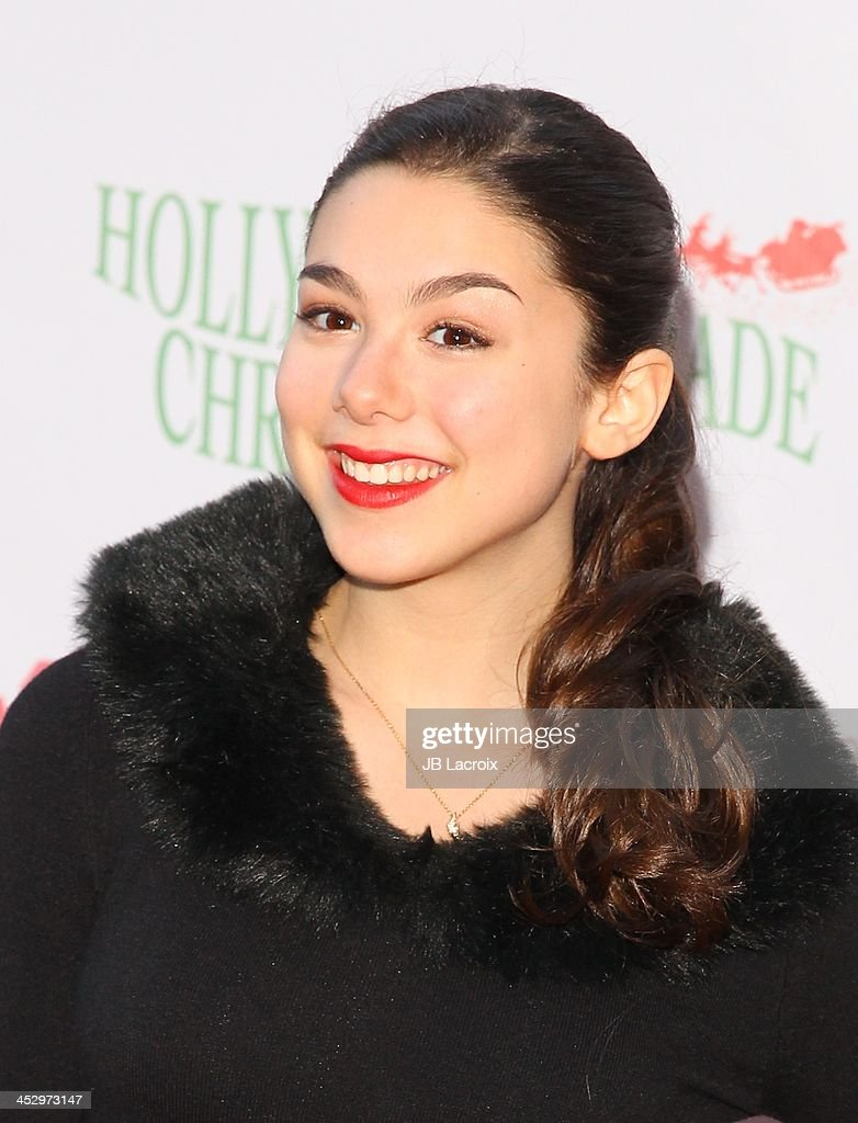 Kira Kosarin attends the Hollywood Christmas Parade benefiting Toys For Tots foundation on December 1, 2013 in Hollywood, California.