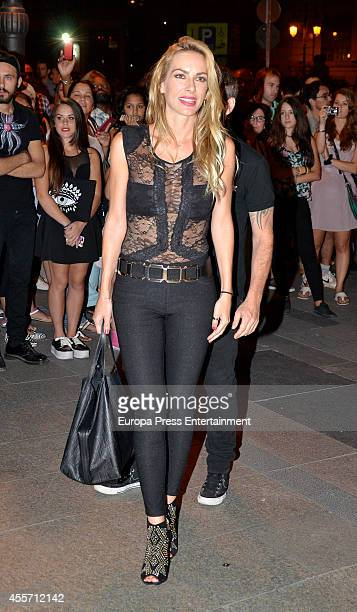 Kira Miro attends FIBA Private Party on September 14 2014 in Madrid Spain