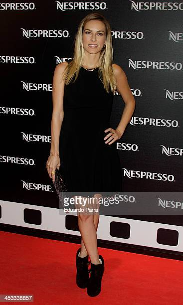 Kira Miro attends Nespresso CrowdDocumentary premiere photocall at Cinema Academy on December 3 2013 in Madrid Spain