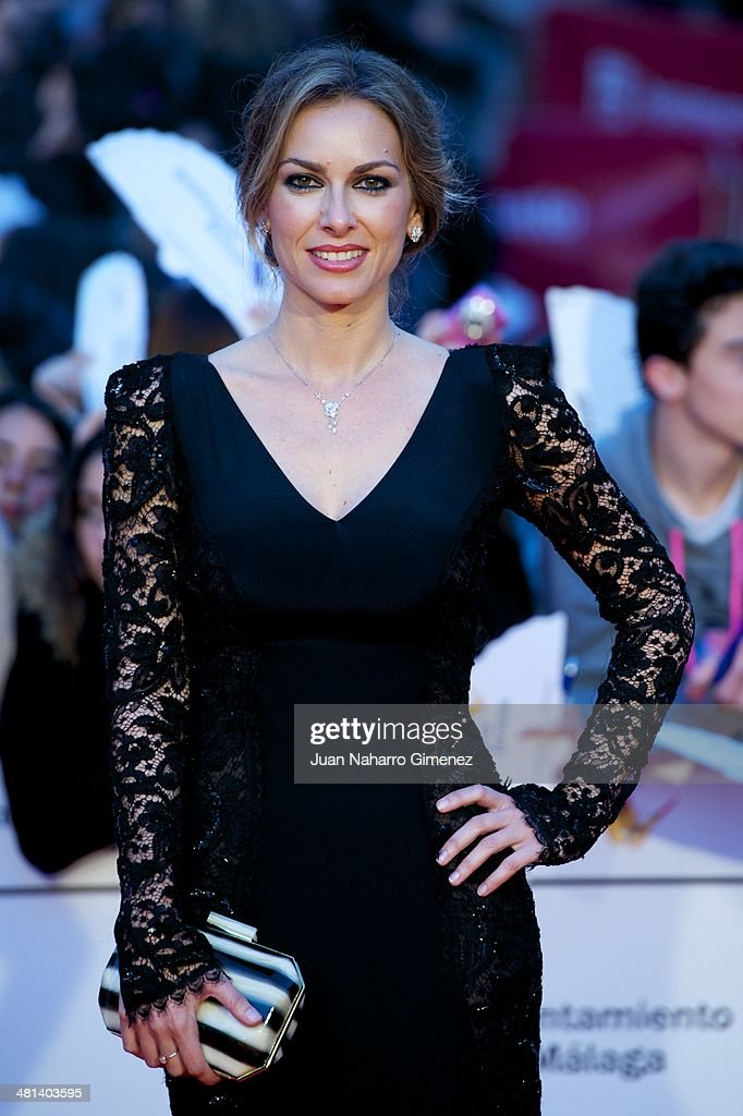 Kira Miro attends the 17th Malaga Film Festival 2014 closing ceremony at the Cervantes Theater on March 29, 2014 in Malaga, Spain.