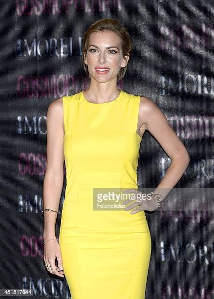 Kira Miro attends the Cosmopolitan Beauty Awards at Platea Restaurant on July 7 2014 in Madrid Spain