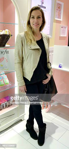 Kira Miro attends the inaguration of new 'Benefit' cosmetic flagship store on January 16 2014 in Madrid Spain