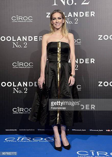 Kira Miro attends the Madrid Fan Screening of the Paramount Pictures film 'Zoolander No 2' at the Capitol Cinema on February 1 2016 in Madrid Spain