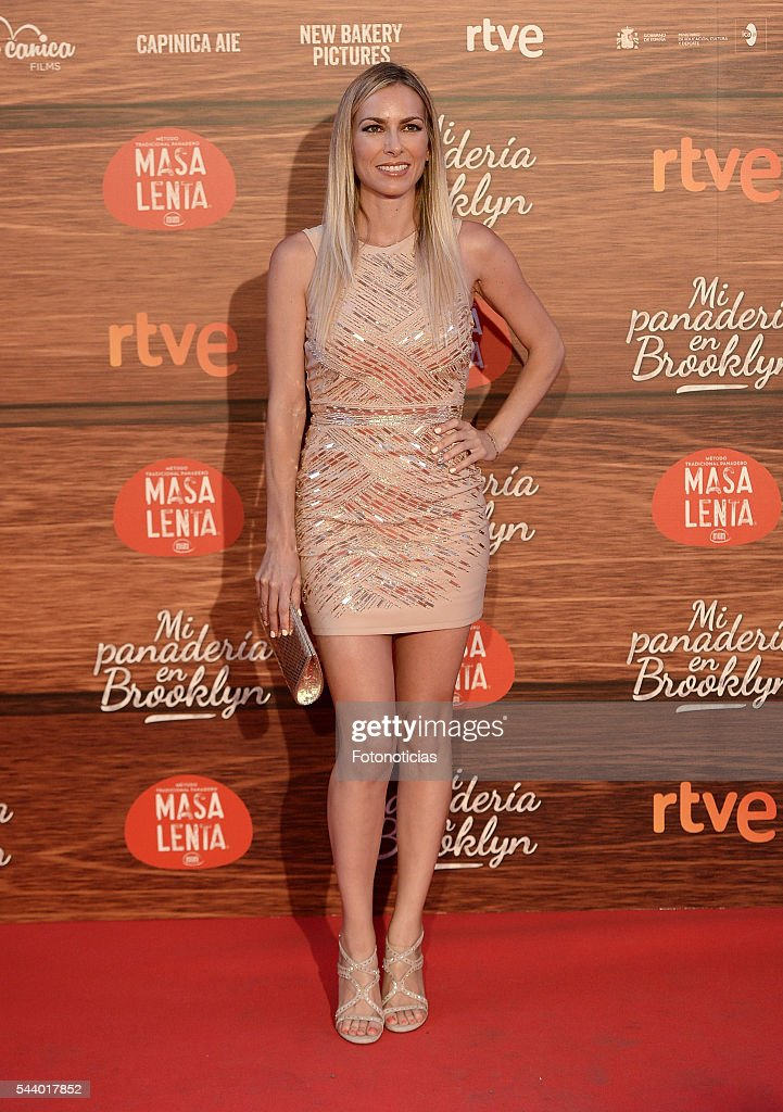 <a gi-track='captionPersonalityLinkClicked' href=/galleries/search?phrase=Kira+Miro&family=editorial&specificpeople=550543 ng-click='$event.stopPropagation()'>Kira Miro</a> attends the 'Mi Panaderia de Brooklyn' premiere at Capitol cinema on June 30, 2016 in Madrid, Spain.
