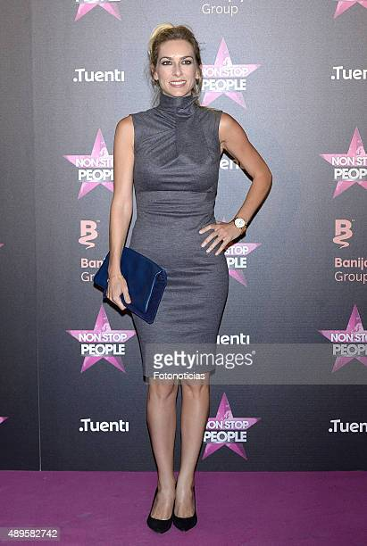 Kira Miro attends the 'Non Stop People' Tv Channel launch at the Circulo de Bellas Artes on September 22 2015 in Madrid Spain