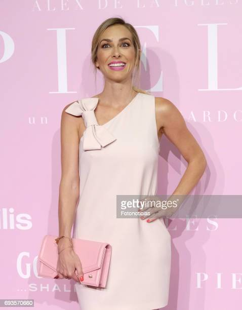 Kira Miro attends the 'Pieles' premiere pink carpet at Capitol cinema on June 7 2017 in Madrid Spain