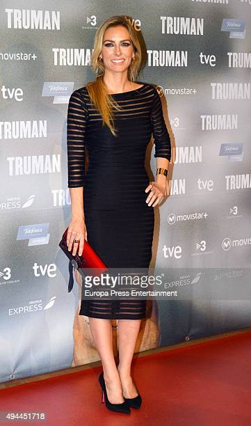 Kira Miro attends the 'Truman' premiere at Palafox Cinema on October 26 2015 in Madrid Spain