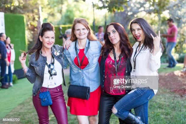 Kira Reed Lorsch Tiffany Ladner Kathy Eads and Nancy O'Brien attend the UCLA Operation Mend 10 Year Anniversary at the Home of Founder Ron Katz...