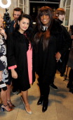 Kiran Sharma and Mica Paris attend the Stella McCartney Christmas Lights Switch On at the Stella McCartney Bruton Street Store on December 4 2013 in...