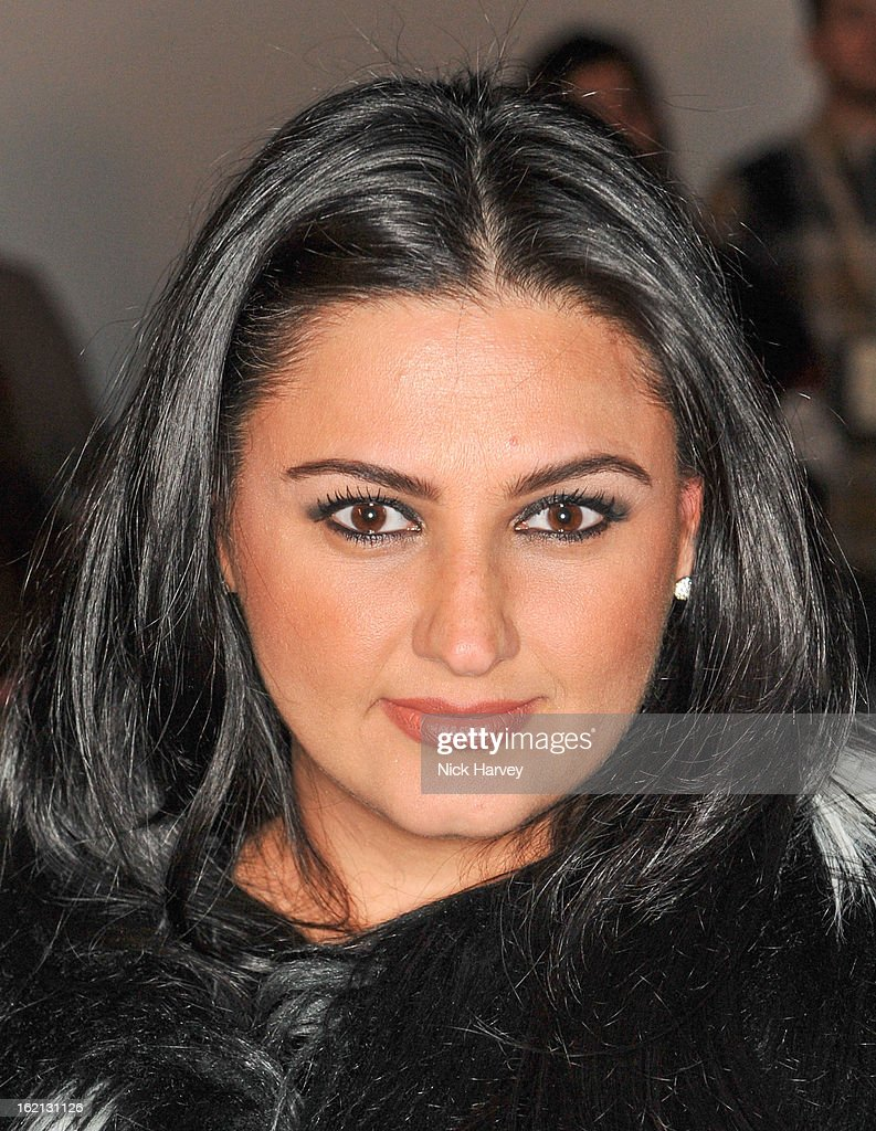 <b>Kiran Sharma</b> attends the Maria Grachvogel show during London Fashion Week ... - kiran-sharma-attends-the-maria-grachvogel-show-during-london-fashion-picture-id162131126