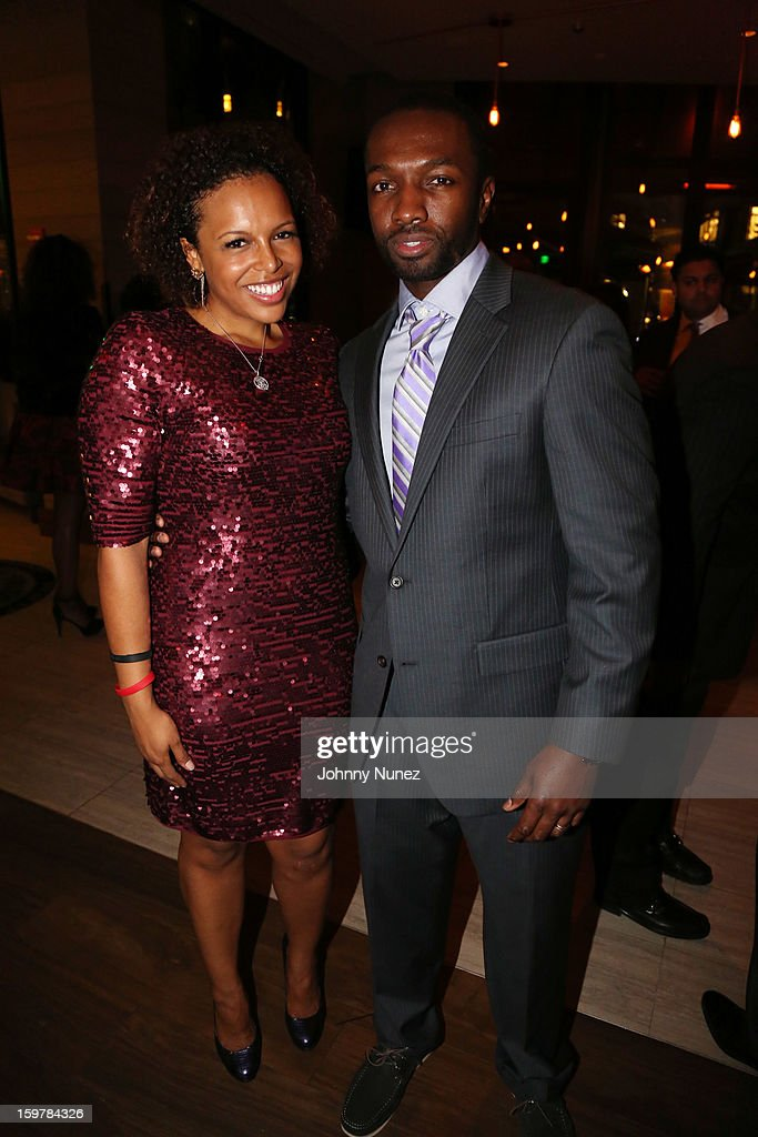 Kirby Bumpus and <a gi-track='captionPersonalityLinkClicked' href=/galleries/search?phrase=Jamie+Hector&family=editorial&specificpeople=666307 ng-click='$event.stopPropagation()'>Jamie Hector</a> attend the After@inauguration Celebration on January 19, 2013 in Washington, United States.