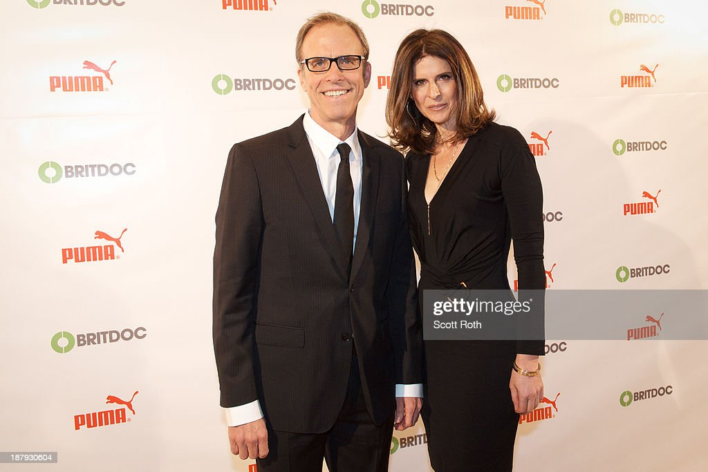 Kirby Dick and Amy Ziering Kofman attend the PUMA Impact Award 2013 at TheTimesCenter on November 13 2013 in New York City