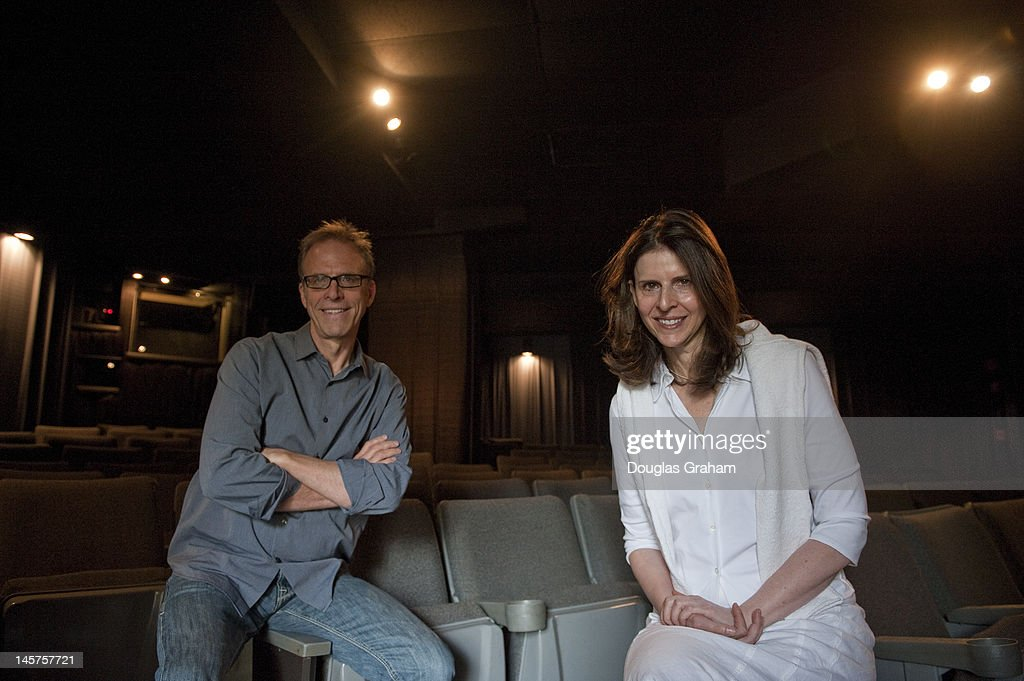 Kirby Dick and Amy Ziering, pose for a photo at the West End Cinema as they promote their film in Washingtonton, D.C. The film, 'The Invisible War' will open Friday June, 22, 2012. It was a winner at the 2012 Sundance Film Festival Audience Award: U.S. Documentary; Winner Nestor Almendros Award for Courage In Filmmaking 2012 Human Rights Watch Film Festival and Winner Silver Heart Award, Dallas International Film Festival.