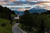 Wallfahrtskirche Maria Gern in Berchtesgaden