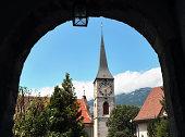 'Kirche St. Martin,  Chur, Graubünden, Switzerland'