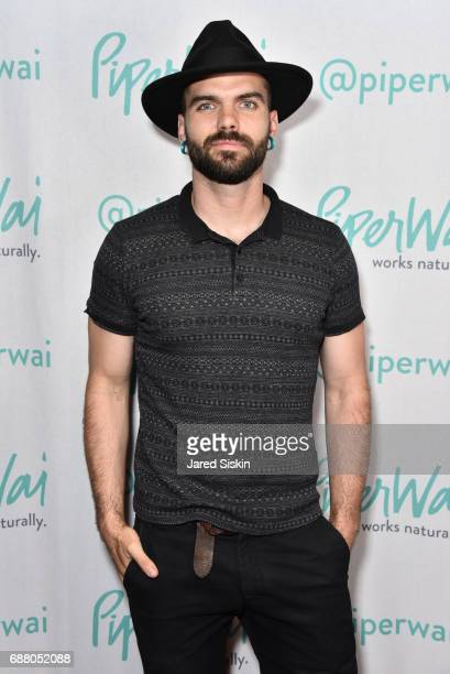 E Kiren attends PiperWai NYC Launch Event at Vnyl on May 24 2017 in New York City