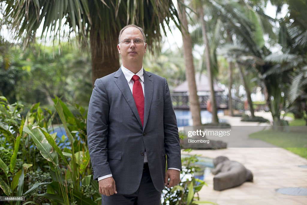 Kiril Dmitriev, chief executive officer of Russian Direct Investment Fund, poses for a photograph after a Bloomberg Television interview at the Boao Forum for Asia in Boao, Hainan, China, on Friday, April 11, 2014. The Boao Forum for Asia takes place from April 8-11. Photographer: Brent Lewin/Bloomberg via Getty Images
