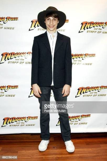 Kiril Kulish attends PreRelease Party for LucasArts New Videogame INDIANA JONES and The STAFF OF KINGS at Nintendo World Store on June 8 2009 in New...