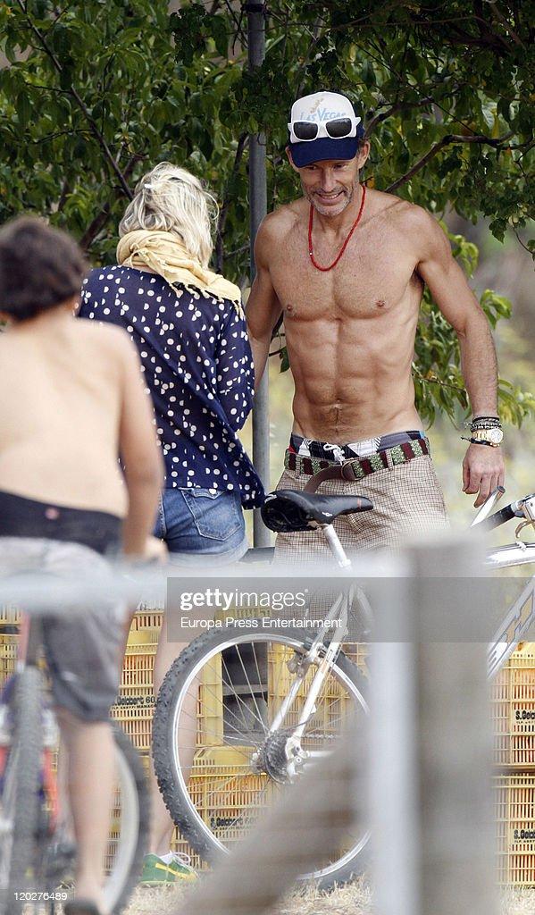 Kirill de Bulgaria (R) and his girlfriend Cristina Tunon are seen on August 03, 2011 in Palma De Mallorca, Spain.