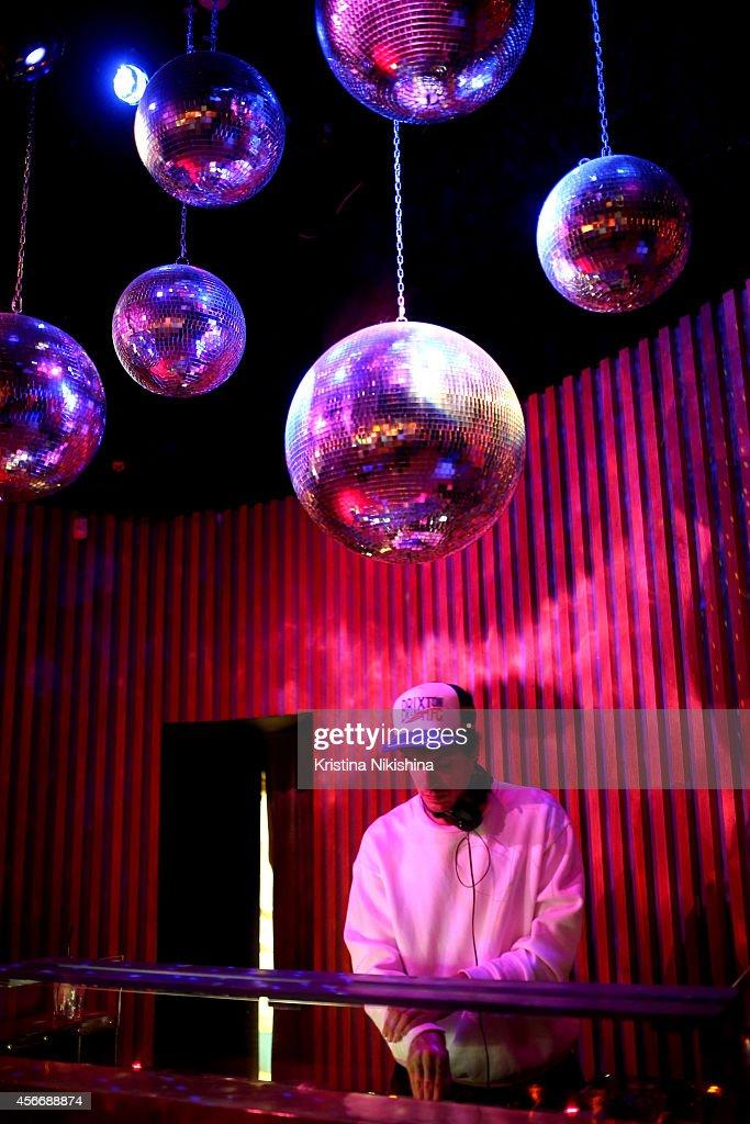DJ Kirill Ivanova attends the u0027Saint Laurentu0027 after party during the Saint Petersburg International & SPIMF - Day 4 -