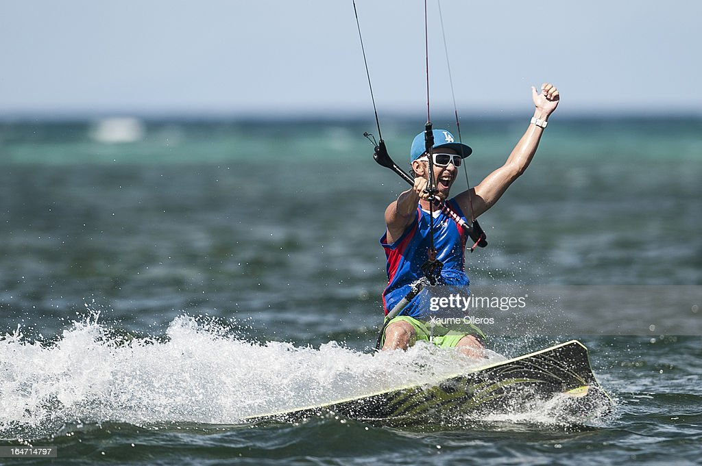 Kirill Litvinov of Russia competes during day two of the KTA at Boracay Island on March 27, 2013 in Makati, Philippines.