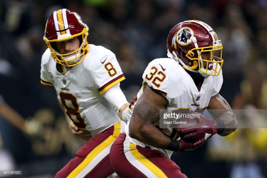Washington Redskins v New Orleans Saints : Fotografia de notícias