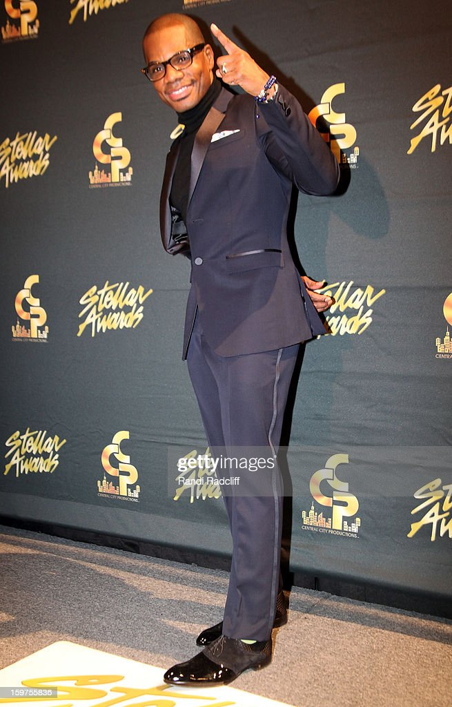 Kirk Franklin attends the 28th Annual Stellar Awards Press Room at Grand Ole Opry House on January 19, 2013 in Nashville, Tennessee.