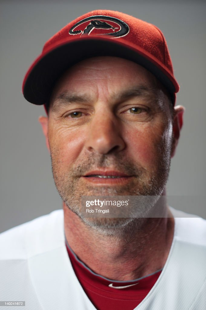 Kirk Gibson manager of the Arizona Diamondbacks poses during photo day at Salt River Fields at Talking Stick on March 1, 2012 in Scottsdale, Arizona.