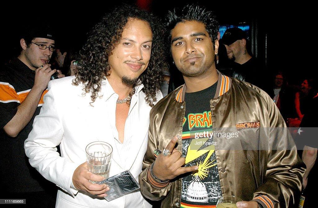 Kirk Hammett and Dave Baksh of Sum 41 *Exclusive*