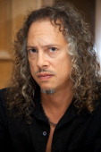 Kirk Hammett at the 'Metallica Through The Never' Press Conference at the Fairmont Hotel on September 17 2013 in San Francisco California
