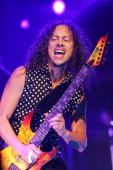 Kirk Hammett of Metallica during 2006 Park City Cargo Concert Series at Harry O's in Park City Utah United States