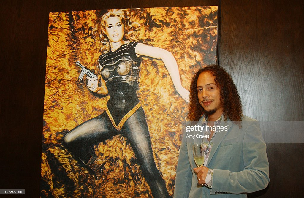 Kirk Hammett of Metallica during The Art of Elysium Presents Russel Young 'fame, shame and the realm of possibility' Hosted by Balthazar Getty and Joaquin Phoenix - Red Carpet and Inside at Minotti Los Angeles in West Hollywood, California, United States.