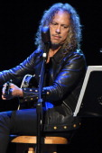 Kirk Hammett of Metallica performs at the 2014 10th annual MusiCares MAP Fund Benefit Concert at Club Nokia on May 12 2014 in Los Angeles California