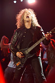 Kirk Hammett of Metallica performs onstage during 'The Concert For Valor' at The National Mall on November 11 2014 in Washington DC