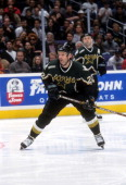 Kirk Muller of the Dallas Stars skates on the ice during an NHL game against the Los Angeles Kings on February 11 2000 at the Staples Center in Los...