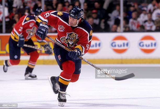 Kirk Muller of the Florida Panthers skates on the ice during an NHL game against the New Jersey Devils on November 22 1997 at the Continental...