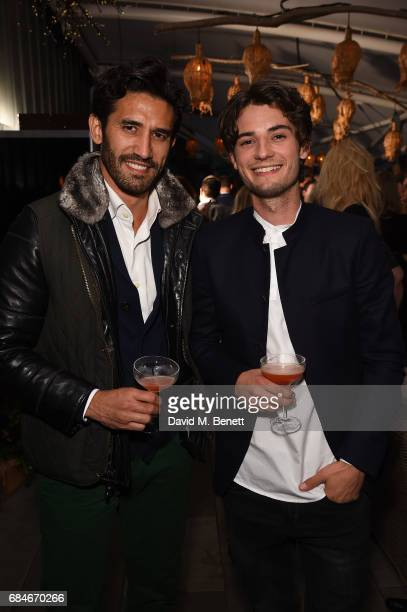 Kirk Newmann and Jack Brett Anderson attend the Gentleman's Journal Bermuda 35th America's Cup summer party hosted by Jack Guinness at Ham Yard Hotel...
