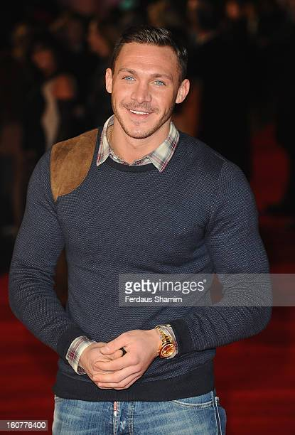 Kirk Nocross attends the UK Premiere of 'Run For Your Wife' at Odeon Leicester Square on February 5 2013 in London England