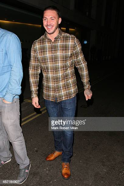 Kirk Norcross attending the Now magazine Christmas party on November 26 2013 in London England