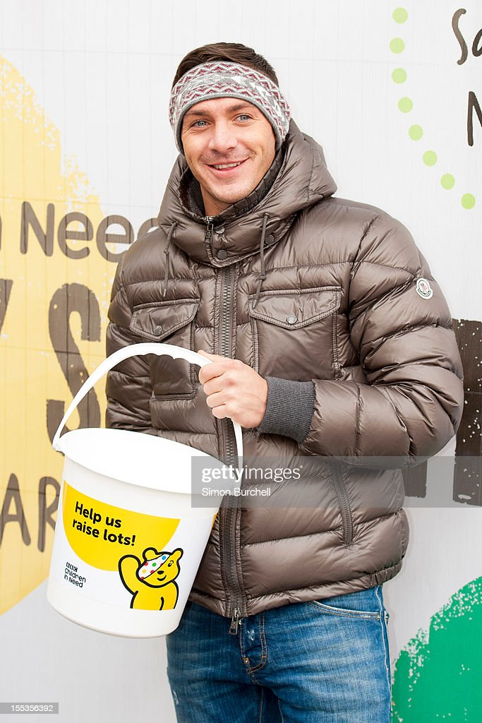 Kirk Norcross attends at the BBC Children In Need Pudsey Street event at Covent Garden on November 3, 2012 in London, England.