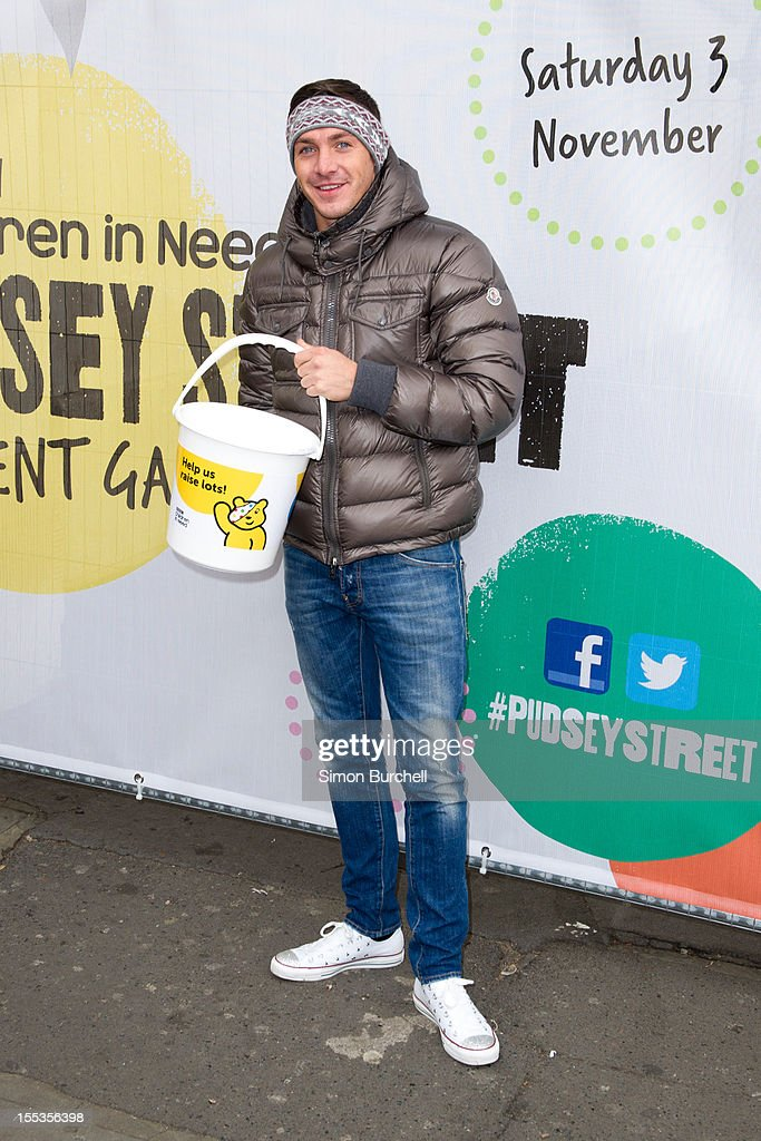 <a gi-track='captionPersonalityLinkClicked' href=/galleries/search?phrase=Kirk+Norcross&family=editorial&specificpeople=7342965 ng-click='$event.stopPropagation()'>Kirk Norcross</a> attends at the BBC Children In Need Pudsey Street event at Covent Garden on November 3, 2012 in London, England.