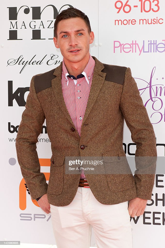 <a gi-track='captionPersonalityLinkClicked' href=/galleries/search?phrase=Kirk+Norcross&family=editorial&specificpeople=7342965 ng-click='$event.stopPropagation()'>Kirk Norcross</a> attends Essex Fashion Week - Autumn/Winter 2012 at Ceme on April 8, 2012 in Rainham, Greater London.