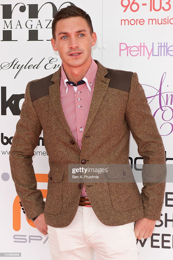 Kirk Norcross attends Essex Fashion Week - Autumn/Winter 2012 at Ceme on April 8, 2012 in Rainham, Greater London.