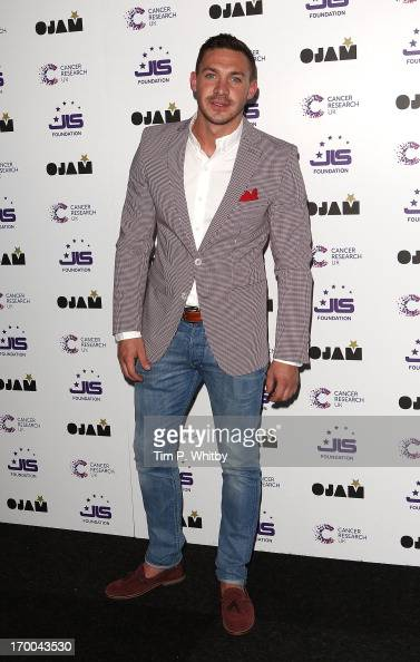 Kirk Norcross attends the JLS Foundation and Cancer Research UK fundraiser at Battersea Evolution on June 6 2013 in London England
