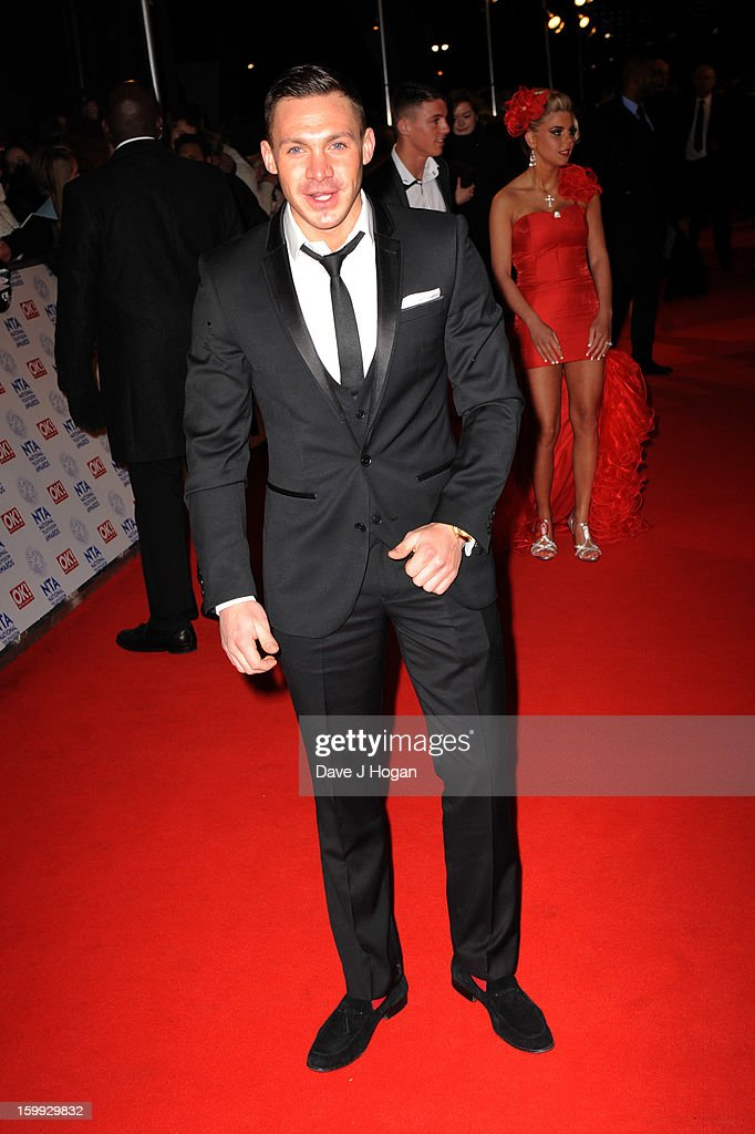 Kirk Norcross attends the National Television Awards 2013 at The O2 Arena on January 23, 2013 in London, England.