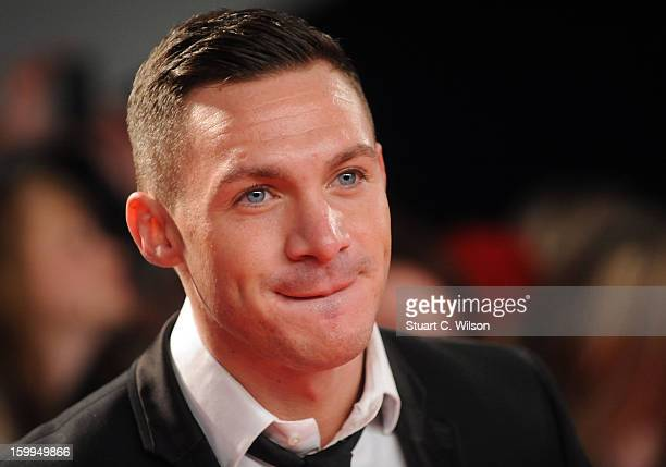 Kirk Norcross attends the National Television Awards at 02 Arena on January 23 2013 in London England