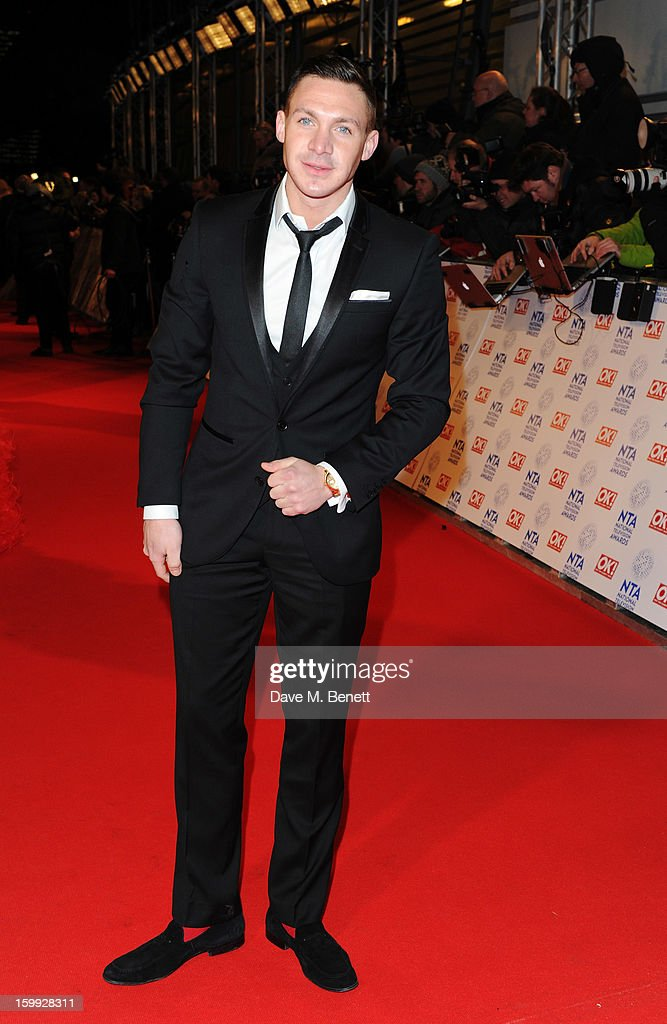 Kirk Norcross attends the the National Television Awards at 02 Arena on January 23, 2013 in London, England.