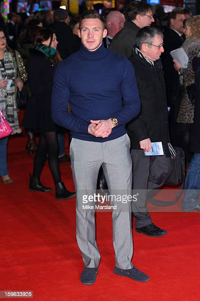 Kirk Norcross attends the UK Premiere of 'Flight' at The Empire Cinema on January 17 2013 in London England